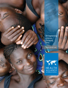 HAI 2008 Annual Report Cover