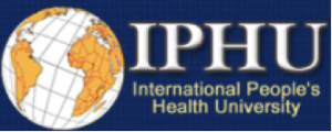 International People's Health University Logo
