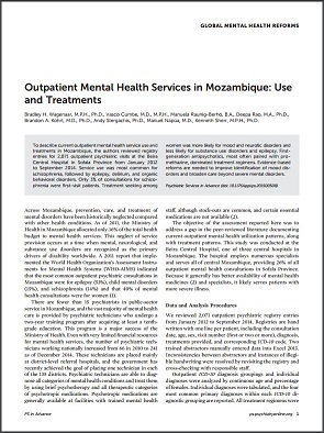 Global Mental Health - Mozambique